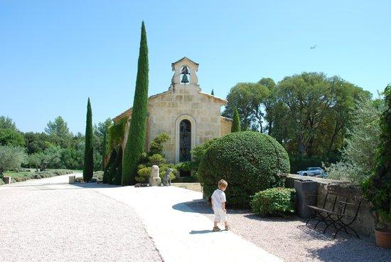 Bistrot Mogador : la chapelle du domaine