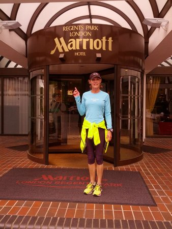 London Marriott Hotel Regents Park : Going for a run...