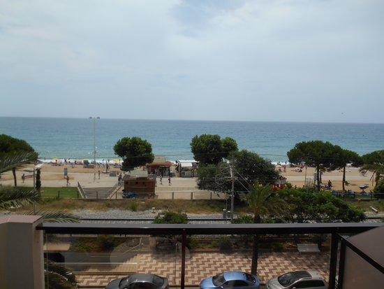 Aqua Hotel Promenade: Meeresblick aus dem Zimmer