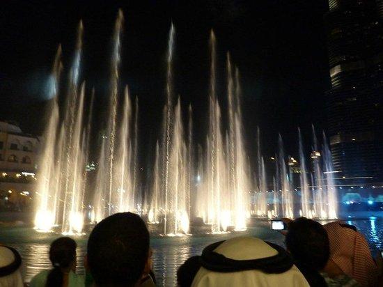 La Fuente de Dubai: fountain show