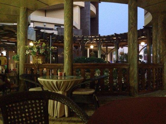 Arle Hotel: Превосходный ресторан!
