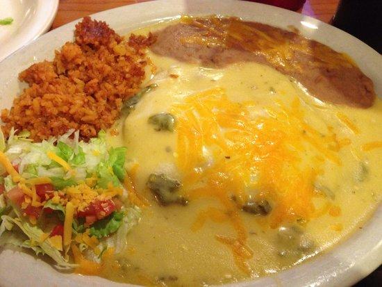 Old Mill Restaurant: Enchilada