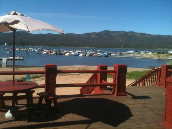 Big Bear Frontier Cabins & Hotel: View from hotel