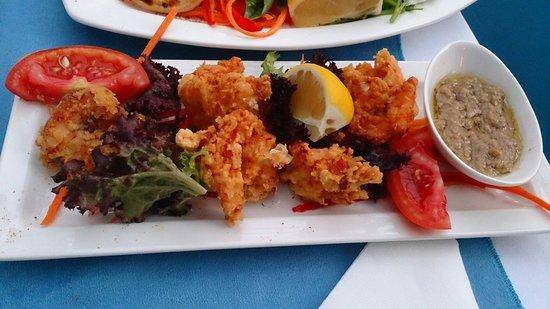 Turkuaz Restaurant Meyhane: Butterfly shrimp plate!