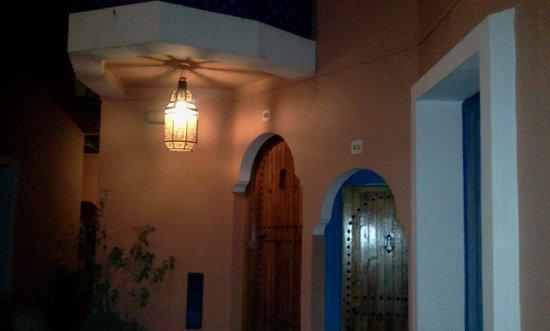 Palais Salam: fuori dalla nostra stanza