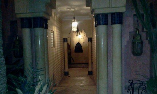 Palais Salam: verso il ristorante