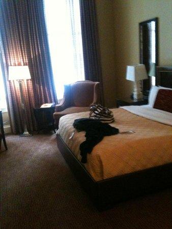 Omni Royal Crescent Hotel : Chambre