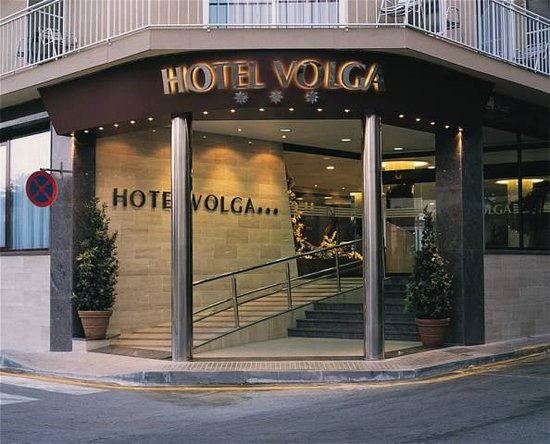 Hotel Volga: Вход