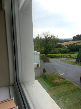 Velwell House Bed & Breakfast: View from guest room - Views from every window