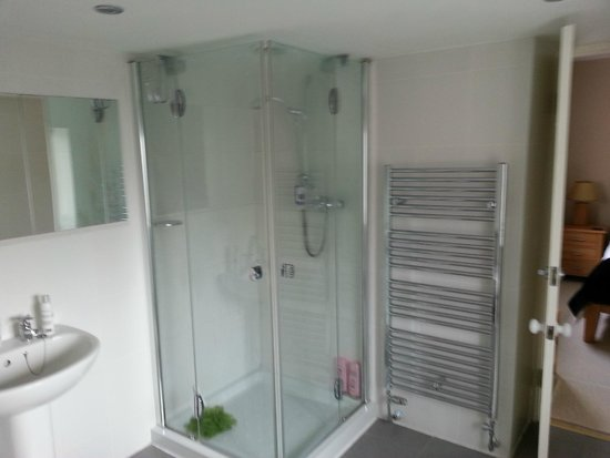 Velwell House Bed & Breakfast: On suite shower room - beautifully clean