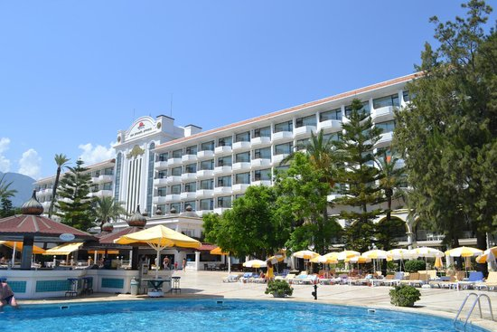 Zen Phaselis Princess Resort & Spa: Вид самого отеля!!!