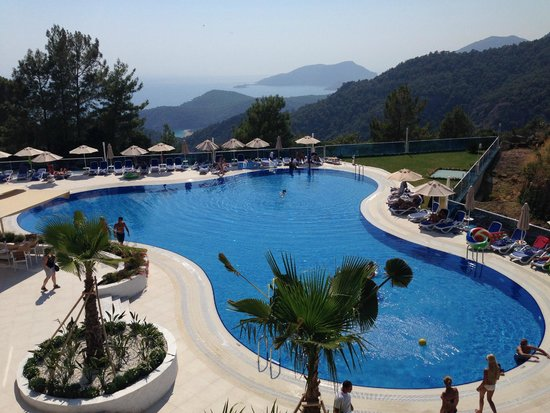 Garcia Resort & Spa: odamızın manzarası. mükemmel