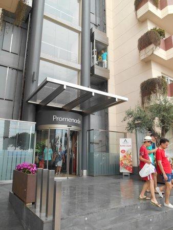 Aqua Hotel Promenade: Außenblick auf das Hotel