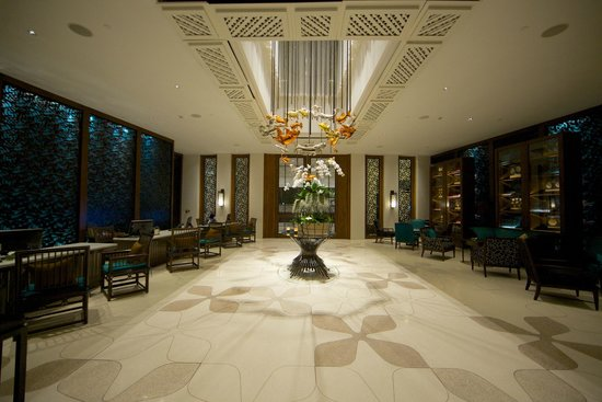 InterContinental Hua Hin Resort : Reception lobby.