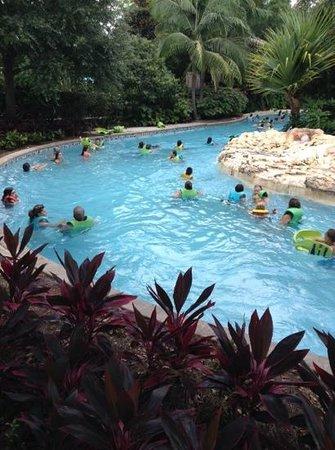 Aquatica Orlando: река
