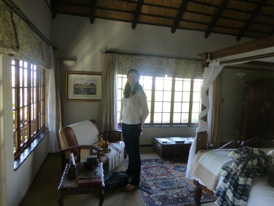 Indigo Fields Farm House and Spa : Safari Room - lovely!