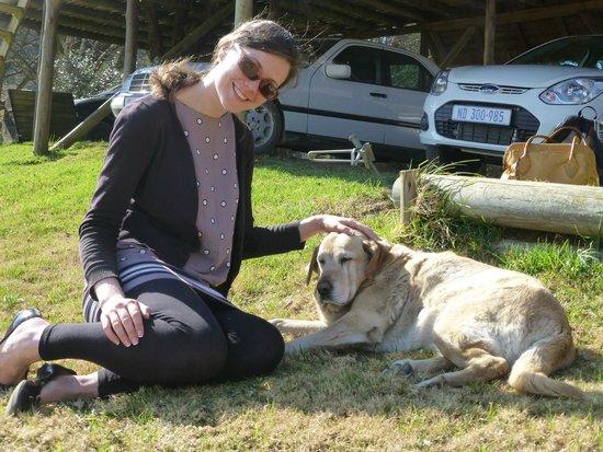 Indigo Fields Farm House and Spa: New friend!