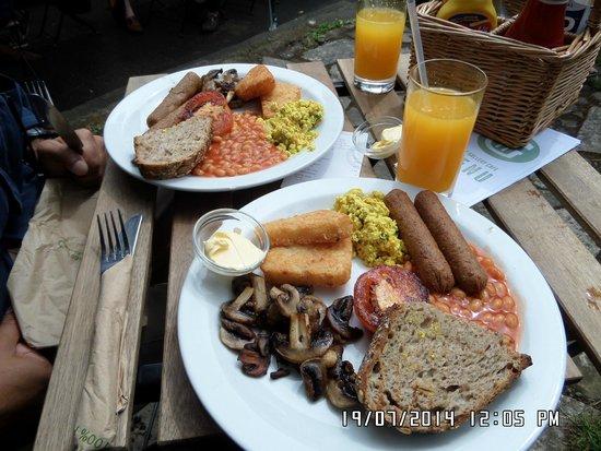 Vegan brunch london