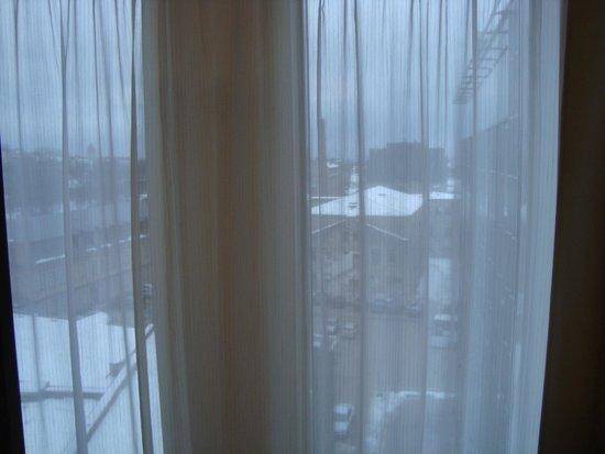 Nordic Hotel Forum: вид из окна на Старый город