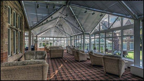 Parsonage Hotel & Spa: Rear Conservatory