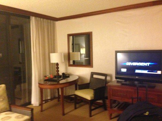Hyatt Regency Maui Resort and Spa: Living area in room