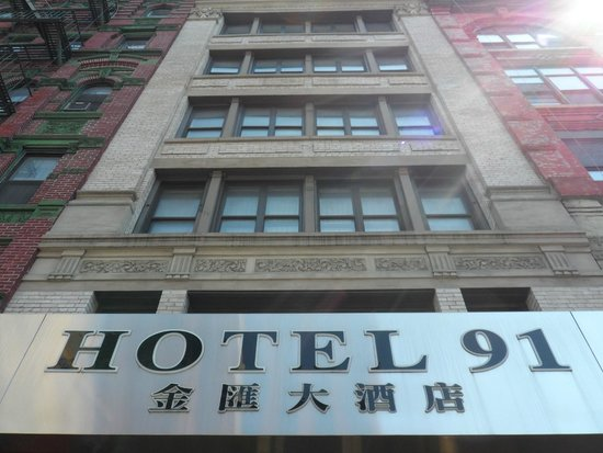 The Hotel 91: fachada do hotel