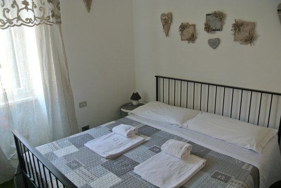 Bed & Breakfast alle Erbe: Наш двухспальный номер :)