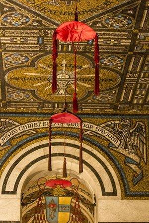 Cathedral Basilica of Saint Louis: Cardinals'  hats
