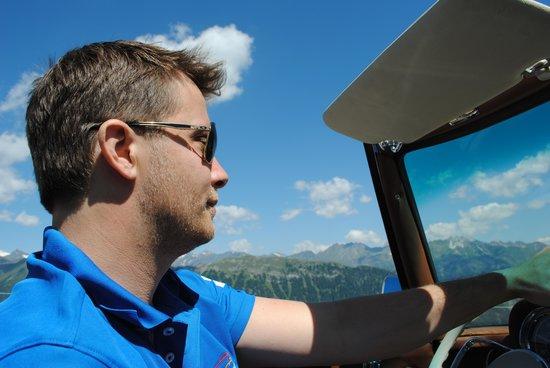 Ansitz Plantitscherhof: Johannes Gufler Präsident vom Historic Cars Meran
