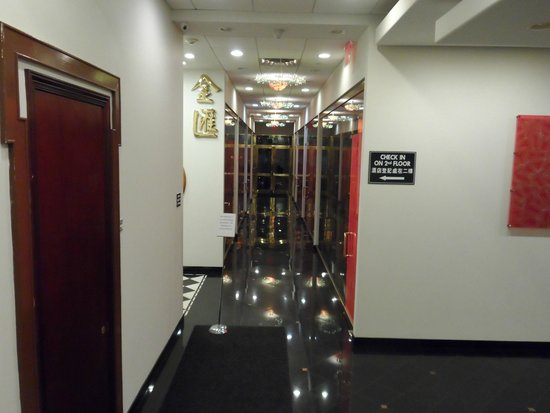 The Hotel 91: entrada