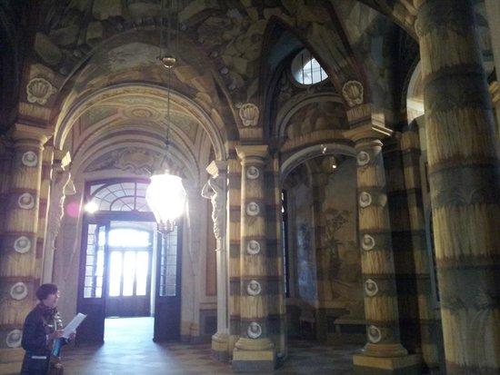 Schloss Mannheim: Inside the entrance