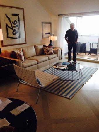 Belmond Hotel Splendido: Our sitting area