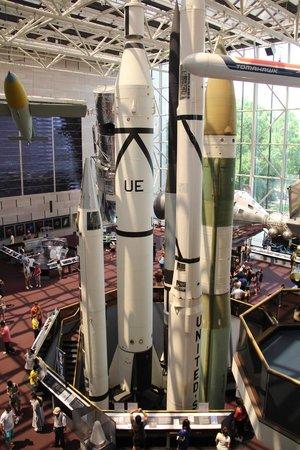 Museo Nacional del Aire y el Espacio: Ракеты
