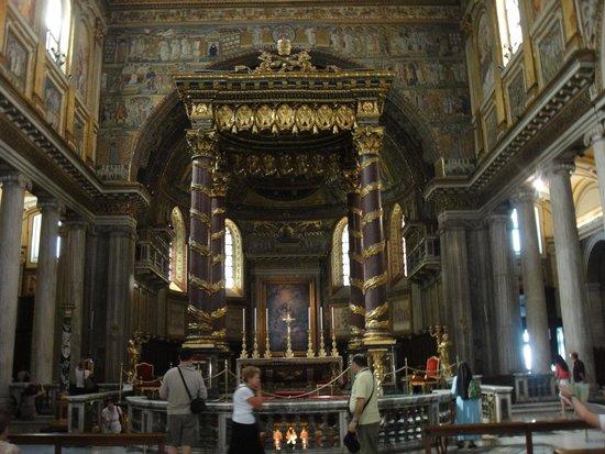 Basilica di Santa Maria Maggiore: Baldaquino