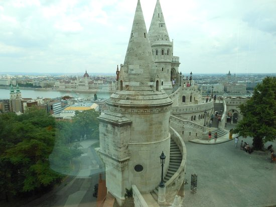 Hilton Budapest: View of Fisherman's Bastion