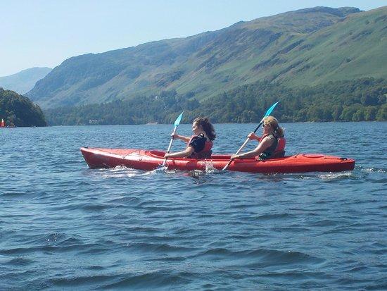 Derwentwater: double sit-in kayak