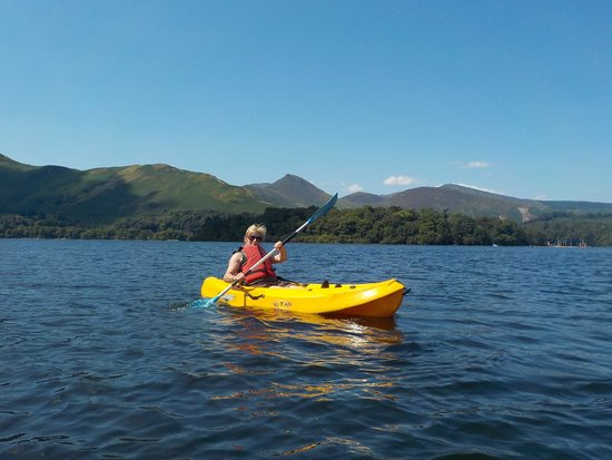 Derwentwater: single sit-on kayak
