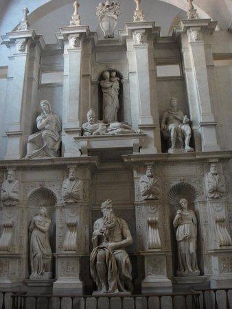 San Pedro Encadenado (San Pietro in Vincoli): Moisés de Michelangelo