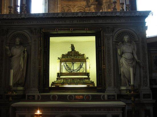 San Pedro Encadenado (San Pietro in Vincoli): As correntes de São Pedro