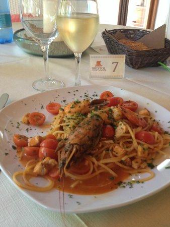 Calampiso Sea Country Resort : Una pasta favolosa