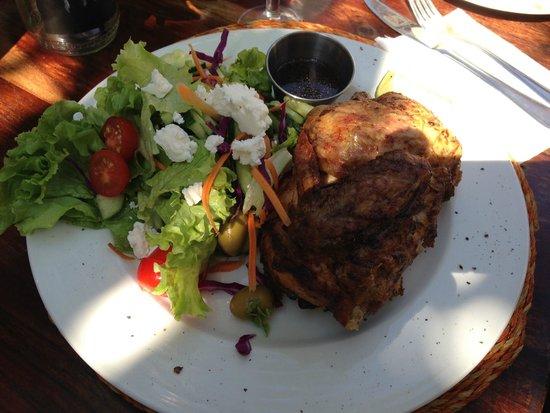 The Africa Cafe: Piri Piri Chicken and Fresh Garden Salad