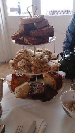 Paskeston Hall Country House: Afternoon tea