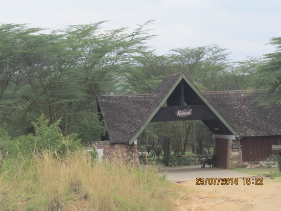 Keekorok Lodge-Sun Africa Hotels : Outer entrance of the resort