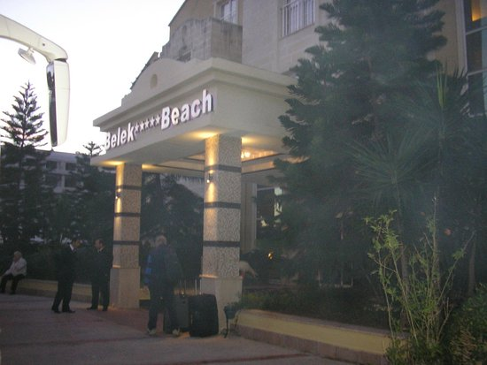 Belek Beach Resort Hotel: entrance