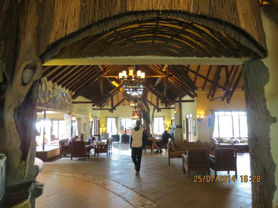 Keekorok Lodge-Sun Africa Hotels : Reception