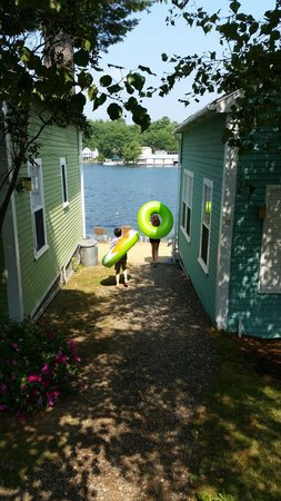 The Naswa Resort : Back from Walmart with new tubes