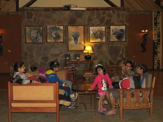 Keekorok Lodge-Sun Africa Hotels: Lobby