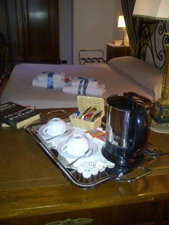 Relais Villa Petrischio: Mimos da noite