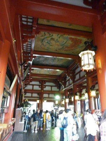Asakusa Shrine: Interior