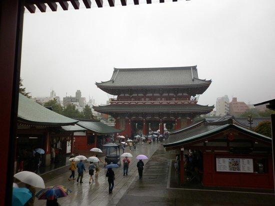 Asakusa Shrine: Vista